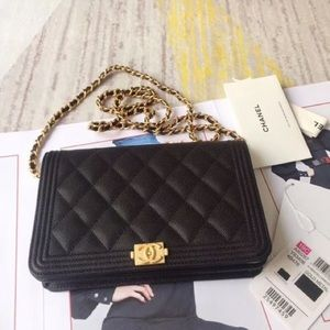 NWT Chanel Boy WOC